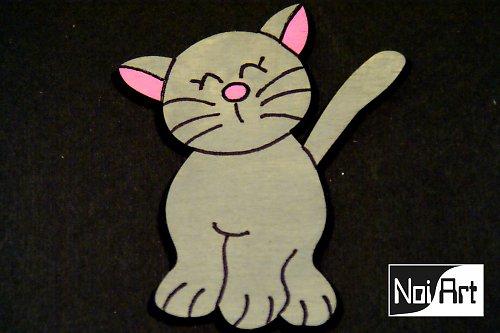 Mačička sivá