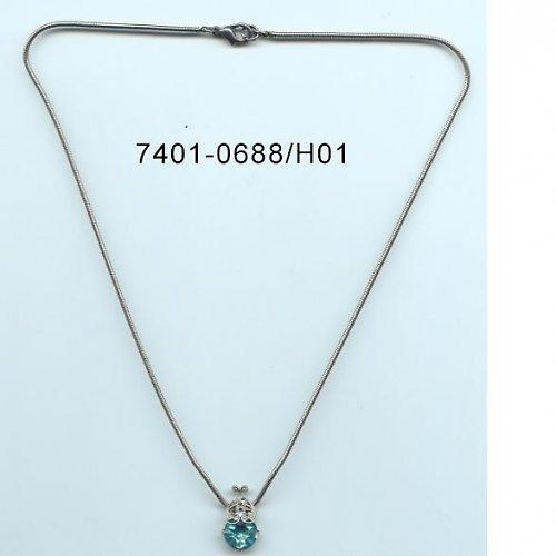 Štrasový náhrdelník F52