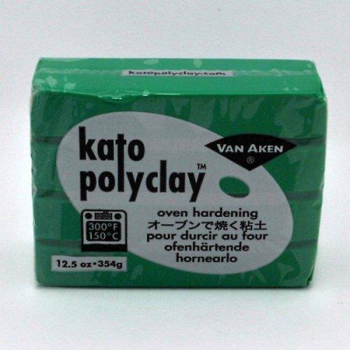 Kato Polyclay velké balení / Zelená