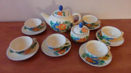 Starožitný čajový servis  Ditmar Urbach