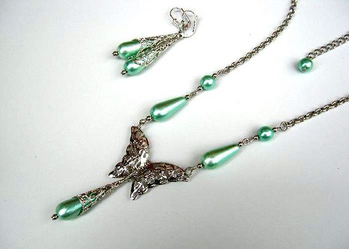 Green lace II. set