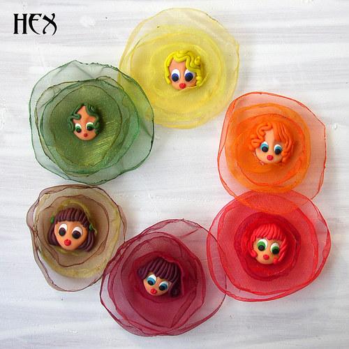 X Flowers - Rainbow