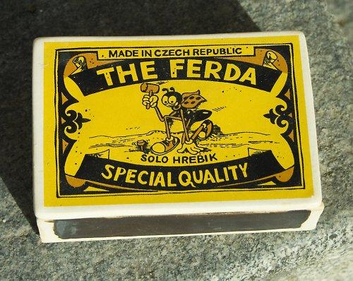 Krabička The Ferda