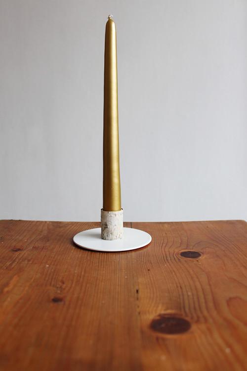 stojan se svíčkou