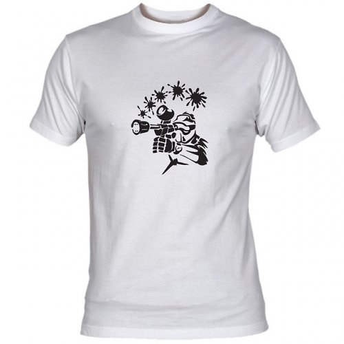 Pánské tričko PAINTBALL III - 2 barvy
