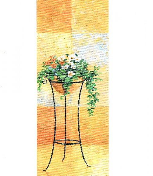 Reprodukce - tisk - Květiny v míse 10x25cm - 028