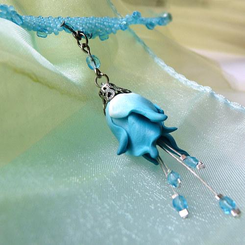 nebeský kvítek - náhrdelník