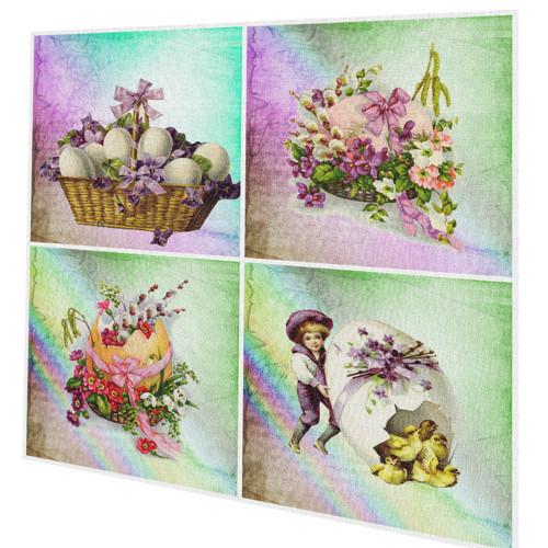 velikonoční bavlněné panely - sady či jednotlivě