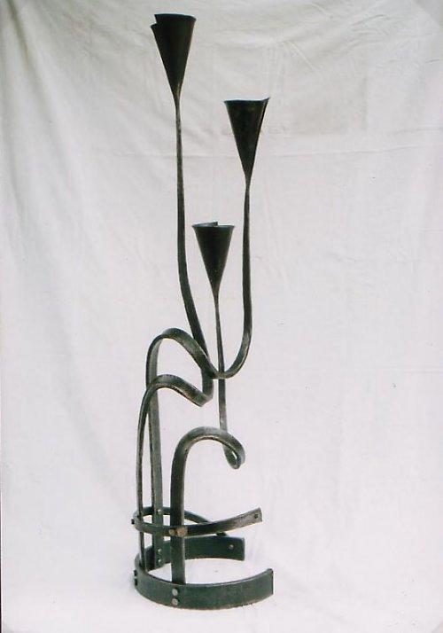 kovaný svícen - velký