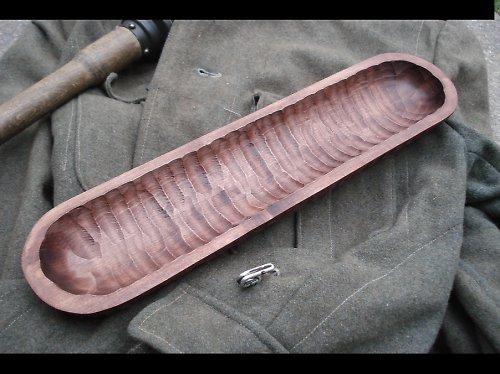 Dřevěné korýtko
