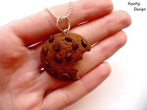 Náhrdelník - cookie