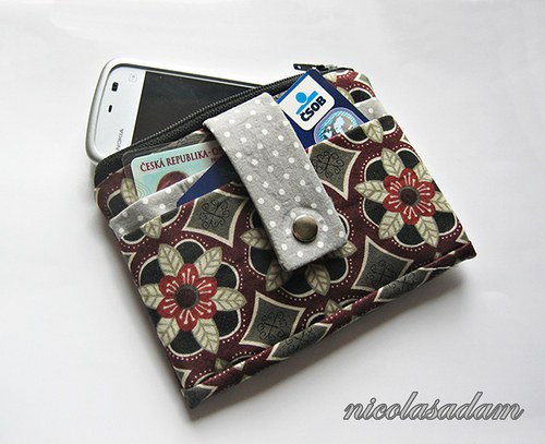 Peněženka či pouzdro - na mobil i na doklady :)