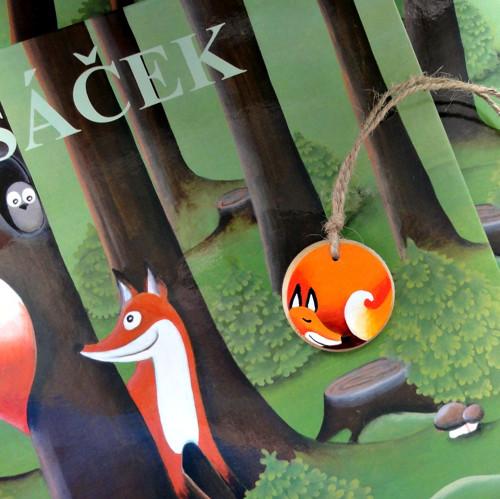 ,,LIŠÁČEK,, - knížka pro děti..s kouskem lesa