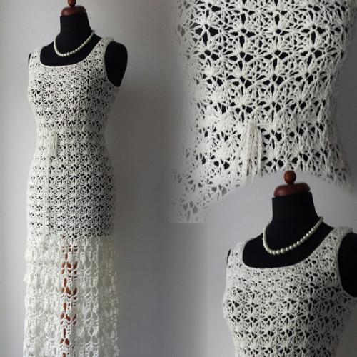 Smetanové šaty