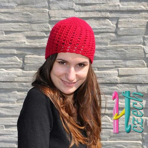 Čepice výrazná - vyberte si barvu