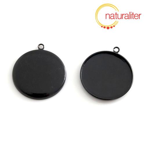 Lůžko kruh 25mm černé
