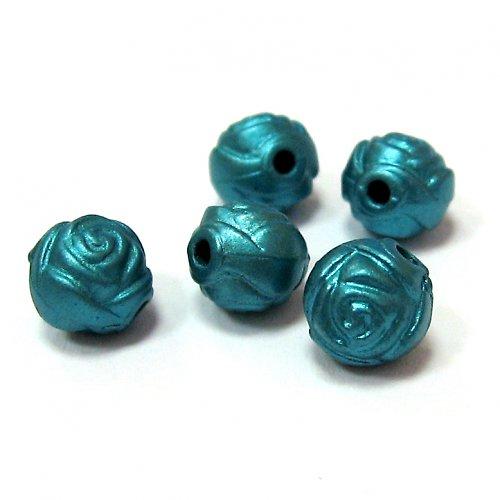 Modré růže - 3 ks
