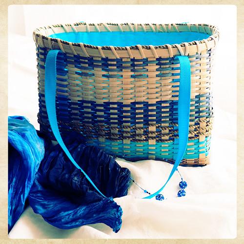 Rujana - ručně tkaná  kabelka