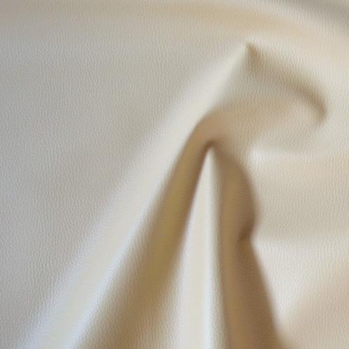 BE5  Textilní kůže - koženka SMETANOVÁ, á 1m