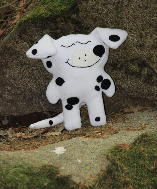 Hajánek lesní - dalmatin puntíkatý