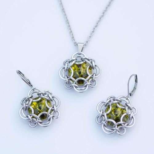 Elisabeth souprava- olivine
