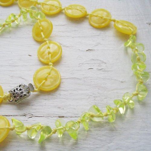 Citronáda...náhrdelník