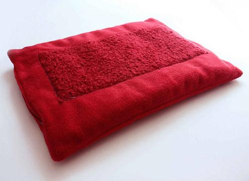 Kočičí pelíšek červený