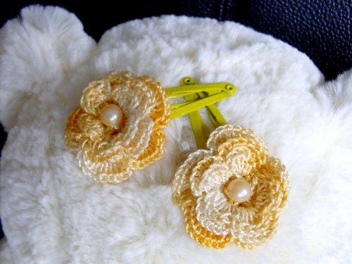 Sponka - Veselé květinky 1ks