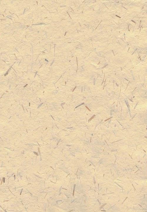 Ruční papír A4 - slámový