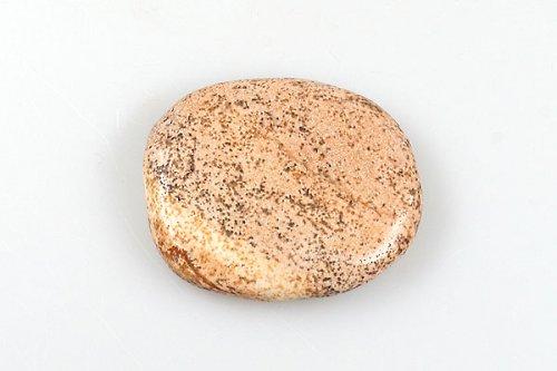 Jaspis obrázkový - plochý valounek