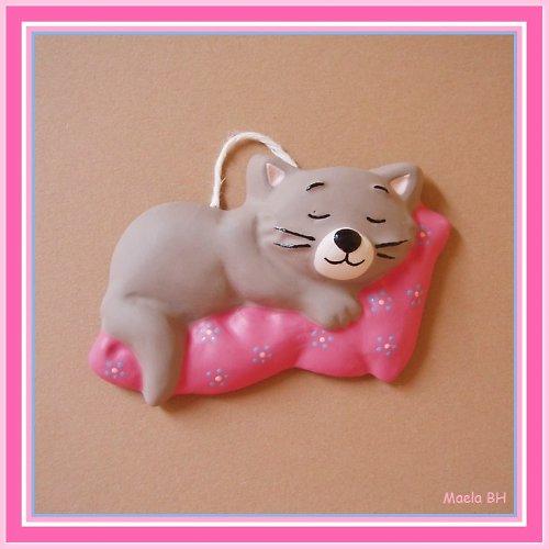 Malovaná kočička