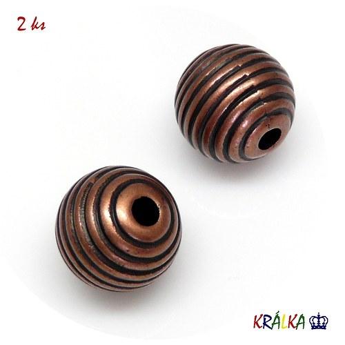 Akrylový korálek kulička