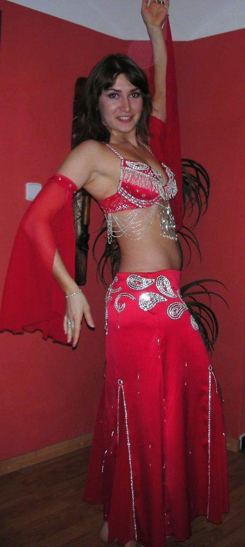 Orientální kostým na břišní tance