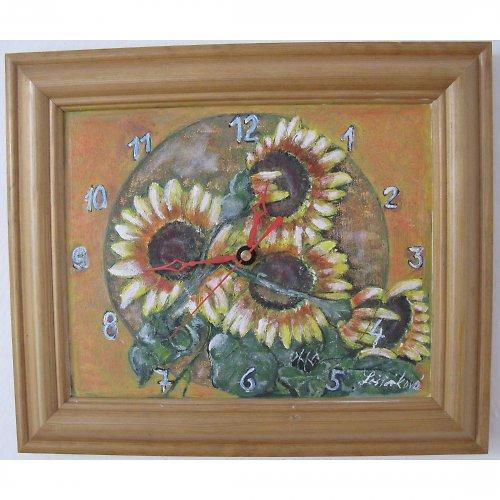 Slunečnice - hodiny