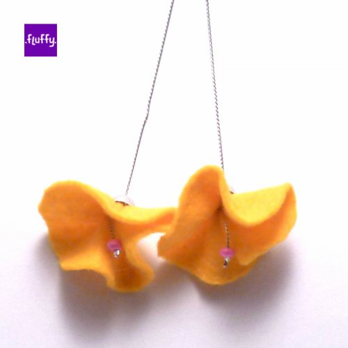 Fluffy Flowers - Yellow