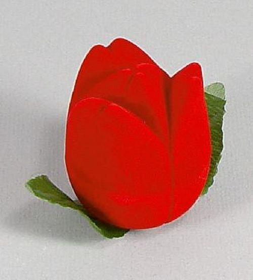 Červený tulipán - krabička na šperky