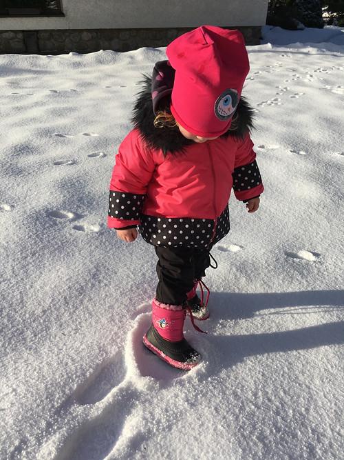 zateplené nepromokové kalhoty do sněhu ... ČERNÉ