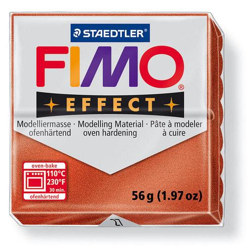 Fimo effect metalická měděná 27