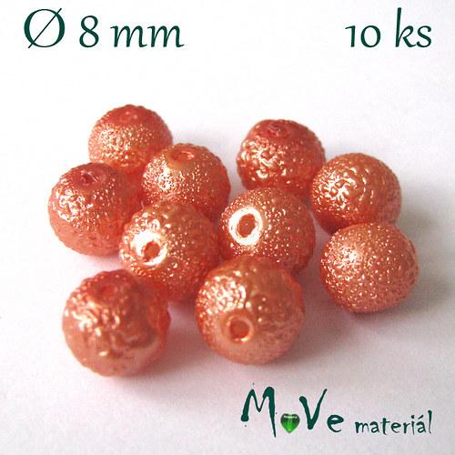"""Voskové perle \""""Zigana\"""" 8mm, 10ks"""