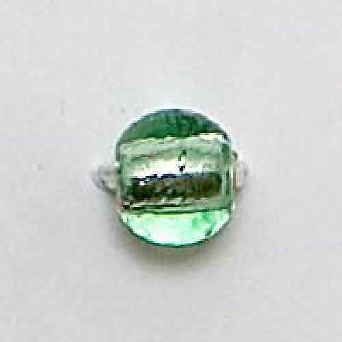 Kulička stříbráky 12mm světle zelená