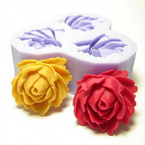 mýdlová forma - květiny
