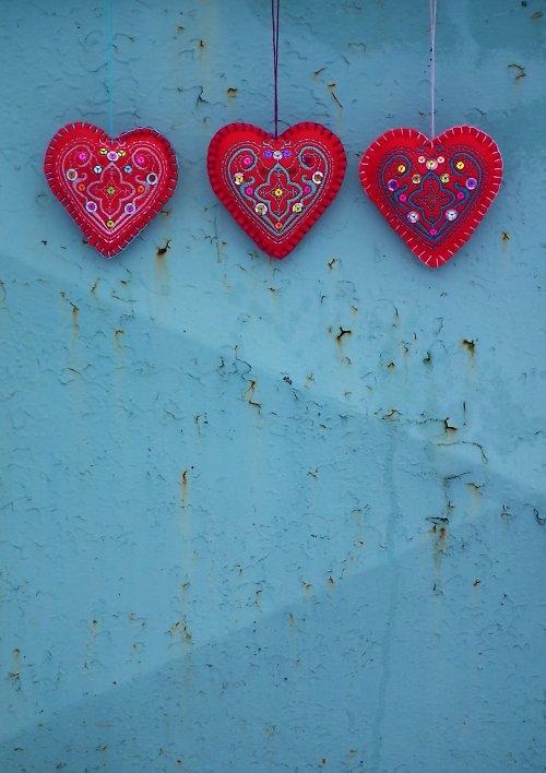 ozdoba, přívěsek, dekorace THE BIG HEART n.3
