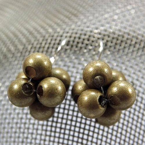 Náušnice Berries Gold
