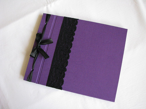 Fotoalbum fialové, 22*27cm, 10 listů