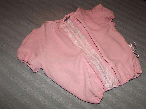 První republika - košulenka pro malou slečnu