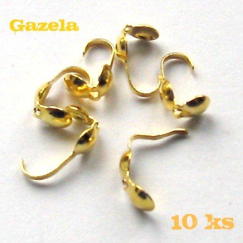 Kalota zlatá - 10 ks