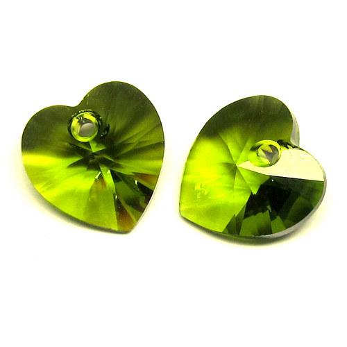 Swarovski srdce 10,5 mm