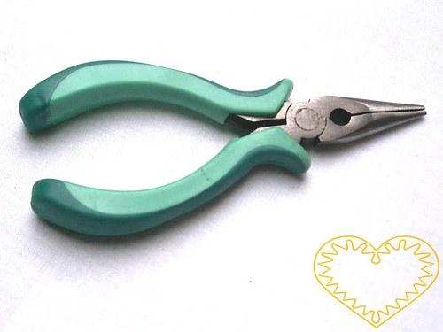 Ketlovací kleště ploché se zoubky - délka 130 mm
