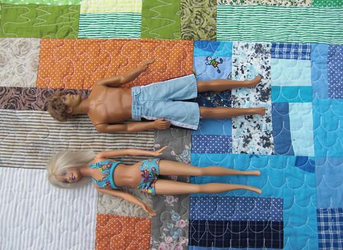 Sleva - Hrací deka pro Barbie nebo LPS