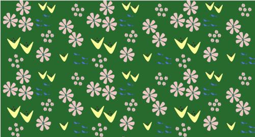 Louka v zelené  (látka)